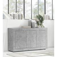 Urbino Collection Three Door Sideboard  - Grey Finish by Andrew Piggott Contemporary Furniture