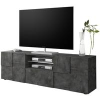 Treviso Large TV Unit - Anthracite Finish by Andrew Piggott Contemporary Furniture