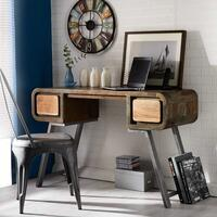 Aspen Retro Indian Wooden Desk / Console Table