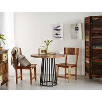 Coastal Round Dining Table  by Indian Hub