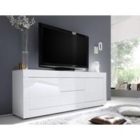 Urbino Low Sideboard/TV Stand  - Gloss White Finish by Andrew Piggott Contemporary Furniture