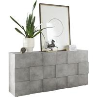 Treviso Three Door Sideboard - Concrete Grey Finish by Andrew Piggott Contemporary Furniture