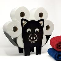 Peanut the Pig Toilet Roll Stand