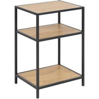 Seafor bedside table with 2 shelves by Icona Furniture