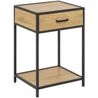 Seafor bedside table with drawer by Icona Furniture