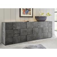 Treviso Four Door Sideboard - Anthracite Finish by Andrew Piggott Contemporary Furniture