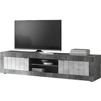 Como Large  TV Unit - Anthracite and Grey Finish by Andrew Piggott Contemporary Furniture
