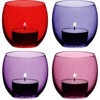 LSA Coro Tealight Holders - Berry by Red Candy
